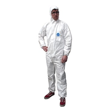 Disposable White Overalls