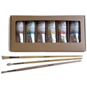 FLINTS Artist's Acrylic Scenic Box Set with 3 FREE Fitches